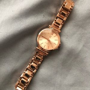 Charming Charlie's rose gold watch